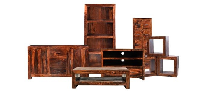 Brilliant Variety Of Sheesham Wood TV Stands Within Cuba Sheesham Furniture Solid Sheesham Wood Lifestyle Furniture Uk (View 40 of 50)