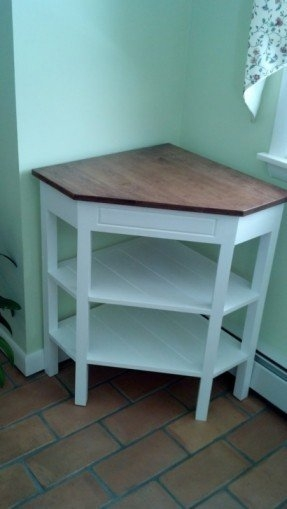 Brilliant Variety Of Triangle TV Stands For Corner Table Tv Stand Foter (View 6 of 50)