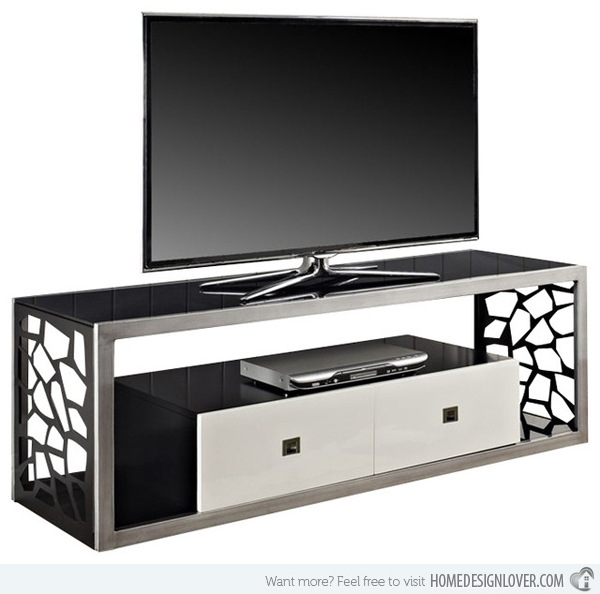 Brilliant Variety Of Unique TV Stands For Flat Screens Throughout 15 Classy Flat Screen Tv Furniture For Your Homes Home Design Lover (Image 9 of 50)