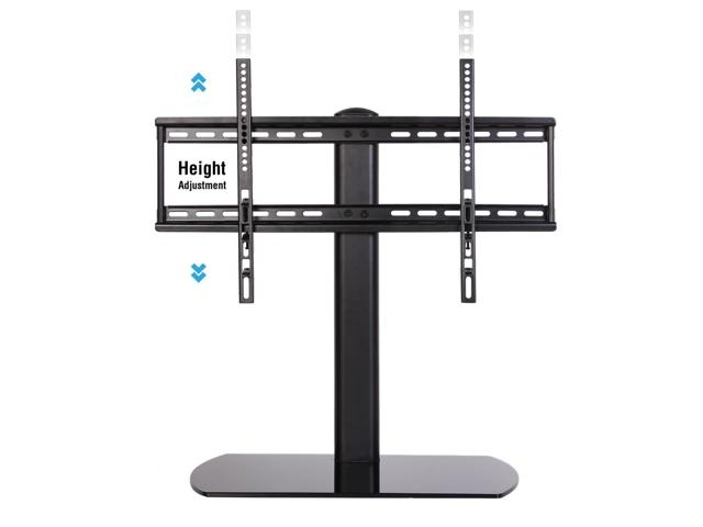 Brilliant Variety Of Vizio 24 Inch TV Stands Pertaining To Fitueyes Universal Tv Stand Pedestal Base Wall Mount For 32  (Image 10 of 50)