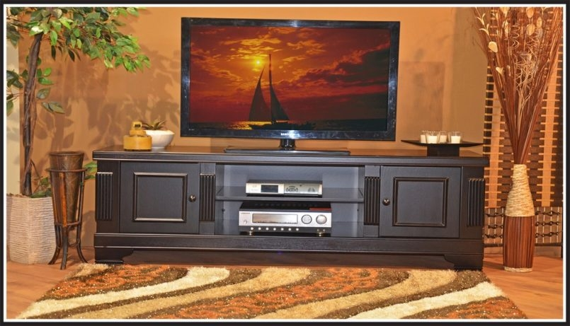 Brilliant Variety Of Wood TV Stands With Swivel Mount Regarding Tv Stand With Swivel Mount For Flat Panel Tvs (Image 8 of 50)