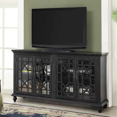 Brilliant Well Known Cast Iron TV Stands Regarding Mistana Ira 72 Tv Stand Reviews Wayfair (Image 10 of 50)