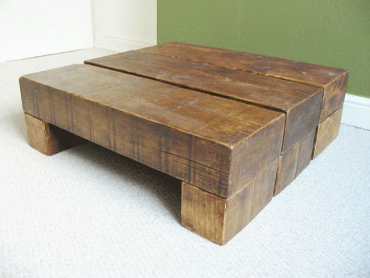 Brilliant Wellknown Chunky Wood Coffee Tables Pertaining To 24 Best Wooden Coffee Tables Images On Pinterest (Image 11 of 50)
