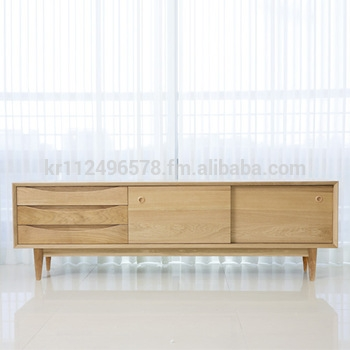 Brilliant Wellknown Contemporary Oak TV Stands Intended For Scandinavian And Contemporary Modern Oak Tv Stand Credenza Buy (Image 11 of 50)