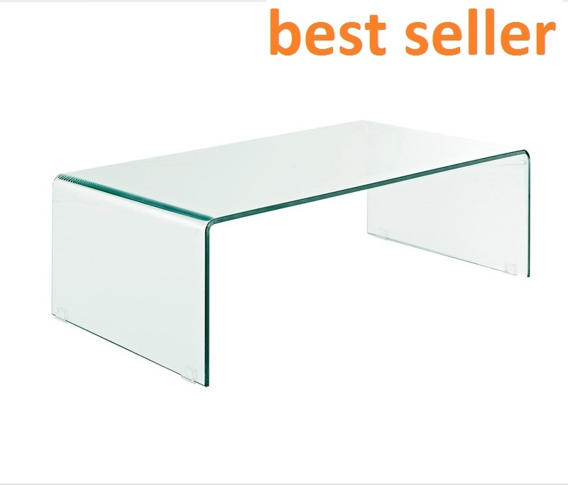 Brilliant Wellknown Curved Glass Coffee Tables Intended For Bent Tempered Glass Coffee Table Glass Nest Tablesfoshan Justgo (Image 9 of 50)