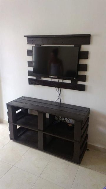 Brilliant Well Known Dwell TV Stands With Dwell Of Decor 30 Creative And Easy Diy Tv Stand Ideas From Old (Image 11 of 50)