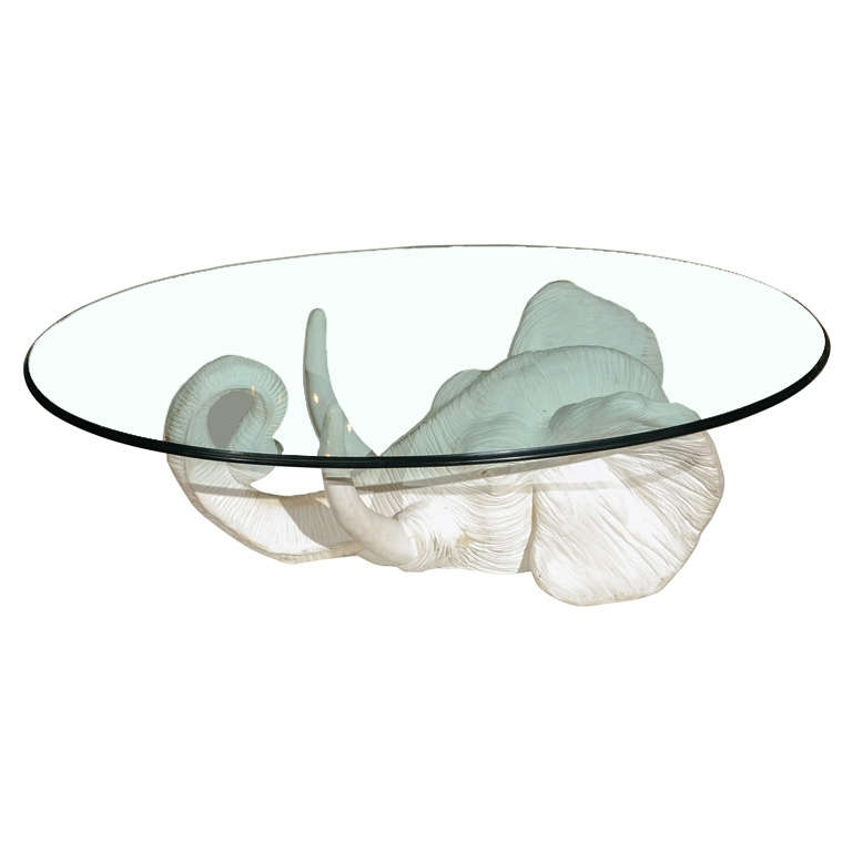 Brilliant Wellknown Elephant Glass Coffee Tables Intended For Elephant Coffee Table Fresh Glass Coffee Table For Round Glass (Image 11 of 40)