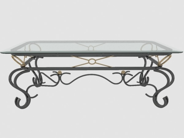 Brilliant Well Known Glass Metal Coffee Tables Throughout Glass And Metal Coffee Table Sets (Image 19 of 50)