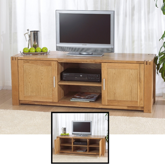 Brilliant Well Known Light Oak TV Cabinets Intended For Find Tv Stand Oak Shop Every Store On The Internet Via Pricepi (Image 13 of 50)