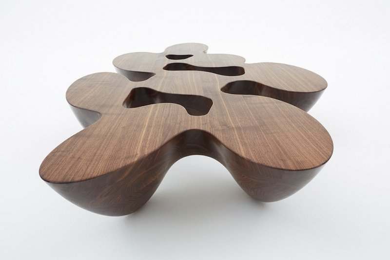 Brilliant Well Known Odd Shaped Coffee Tables With Living Room Top Unique Coffee Tables Ideas Roselawnlutheran Inside (Image 12 of 50)