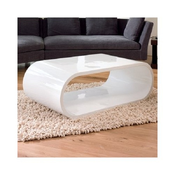 Brilliant Well Known Oval Gloss Coffee Tables Throughout White Oval Coffee Table (View 8 of 40)