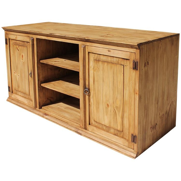 Brilliant Wellknown Pine TV Stands Within Rustic Pine Collection Tecate Tv Stand Com (Image 12 of 50)