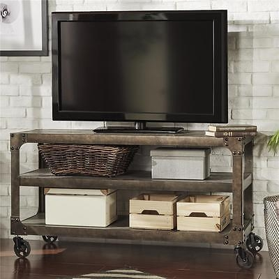 Brilliant Wellknown Reclaimed Wood And Metal TV Stands Intended For Modern Living Rustic Industrial Antique Vintage Cart Metal Wood Tv (Image 16 of 50)