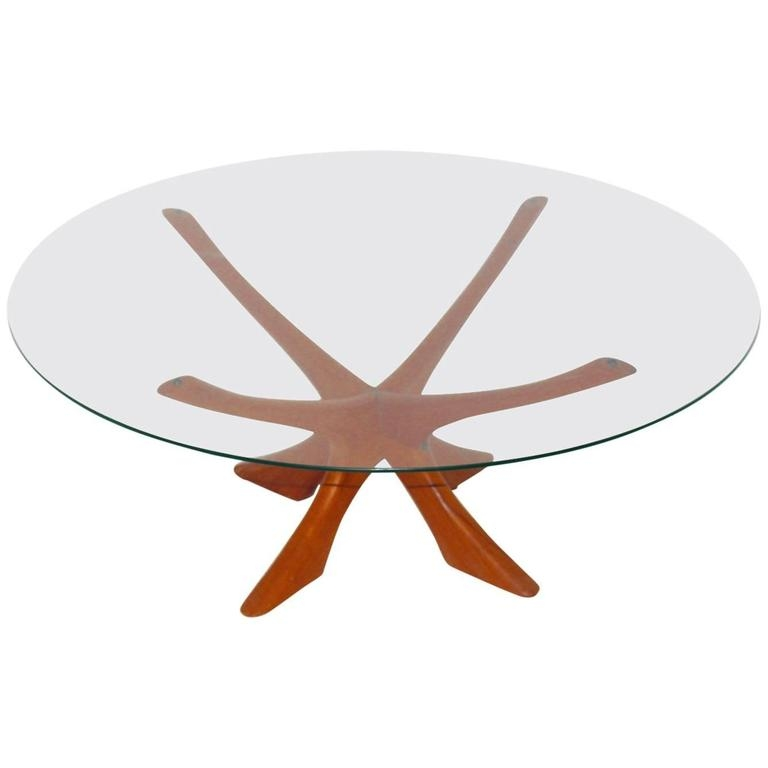 Brilliant Well Known Retro Teak Glass Coffee Tables Throughout Danish Teak And Glass Coffee Table Illum Wikkelso Circa (View 5 of 50)