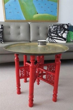 Brilliant Well Known Round Tray Coffee Tables Intended For Round Tray Coffee Table Foter (Image 11 of 50)