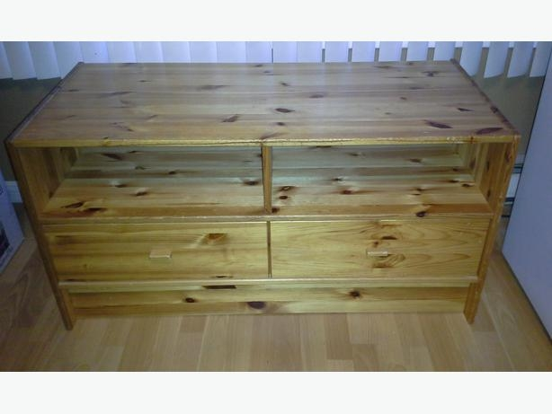 Brilliant Well Known Solid Pine TV Stands With Regard To Ikea Solid Pine Tv Stand Saanich Victoria (View 13 of 50)
