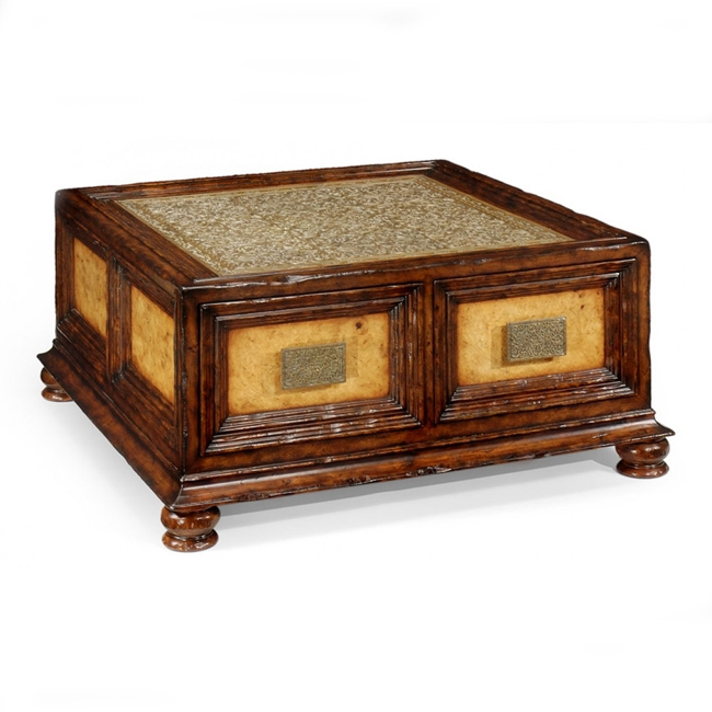 Brilliant Well Known Square Coffee Tables With Drawers With Regard To Square Coffee Table With Drawers (View 16 of 40)