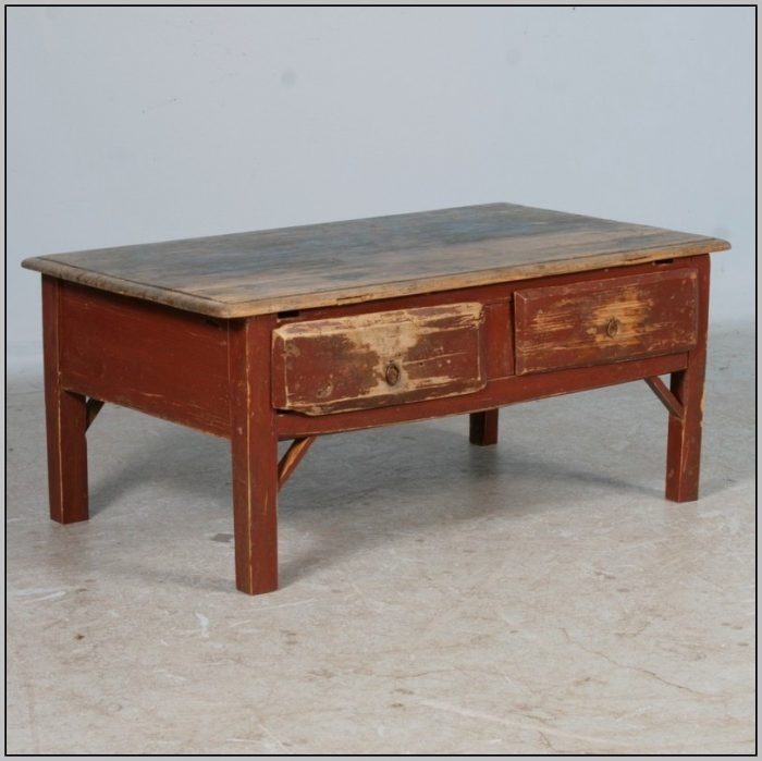 Brilliant Wellknown Square Pine Coffee Tables Pertaining To Antique Square Pine Coffee Table Coffee Table Home Decorating (Image 16 of 50)