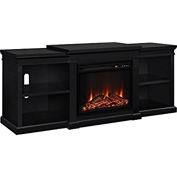 Brilliant Wellknown Stil TV Stands For Amazon Pamari 299689 Milena Tv Stand With Electric Fireplace (View 27 of 49)
