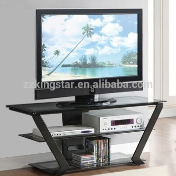 Brilliant Well Known Triangle TV Stands In Cheap 3 Tiers Tempered Glass Top Inverted Triangle Tv Stand Buy (Image 12 of 50)