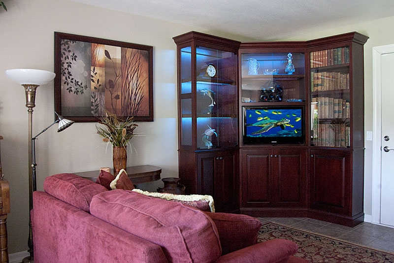 Brilliant Wellknown TV Stands With Matching Bookcases Intended For C 210 Wall Unit Is The Perfect Corner Unit For A Flat Panel Tv (Image 14 of 50)