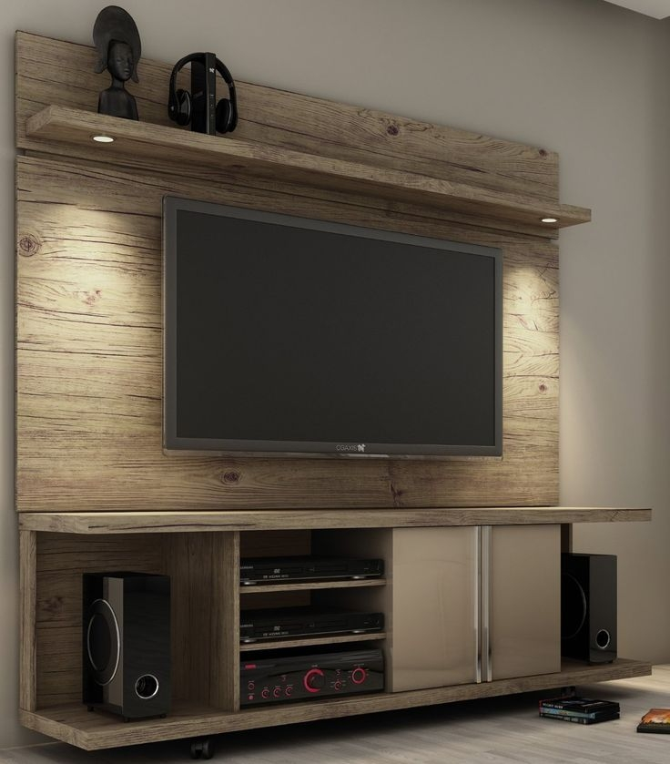 Brilliant Wellknown Wall Mounted TV Stands Entertainment Consoles Inside 11 Best Tv Stands Images On Pinterest Rustic Tv Console Rustic (View 35 of 50)