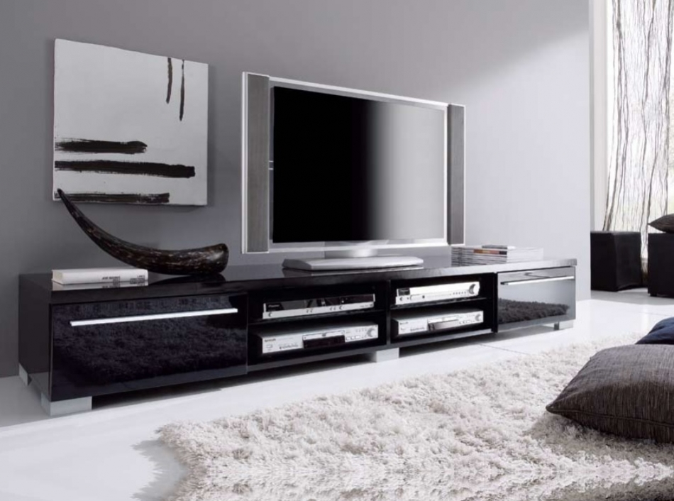 Brilliant Well Known White Modern TV Stands With Regard To Tv Stands Modern Home Concept (Image 9 of 50)