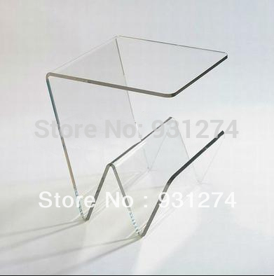 Featured Image of Acrylic Coffee Tables With Magazine Rack