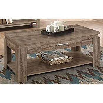 Brilliant Wellliked Dark Coffee Tables In Amazon Acme Furniture 83285 Xanti Coffee Table Dark Taupe (Image 14 of 50)