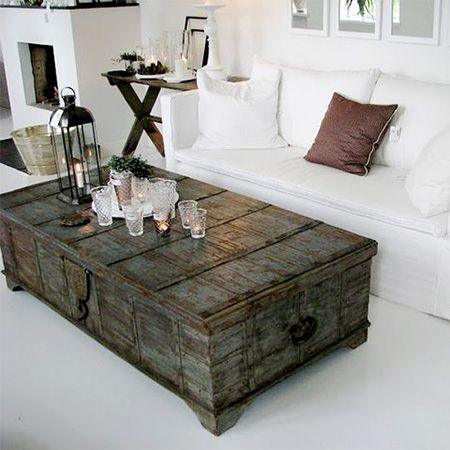 Brilliant Wellliked Dark Wood Chest Coffee Tables Inside Best 25 Trunk Coffee Tables Ideas On Pinterest Wood Stumps (Image 10 of 50)