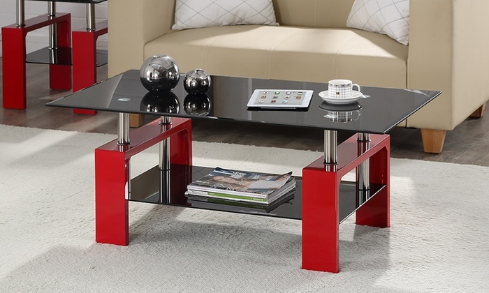 Brilliant Wellliked Elise Coffee Tables Throughout Elise Coffee Table Groupon Goods (Image 10 of 40)