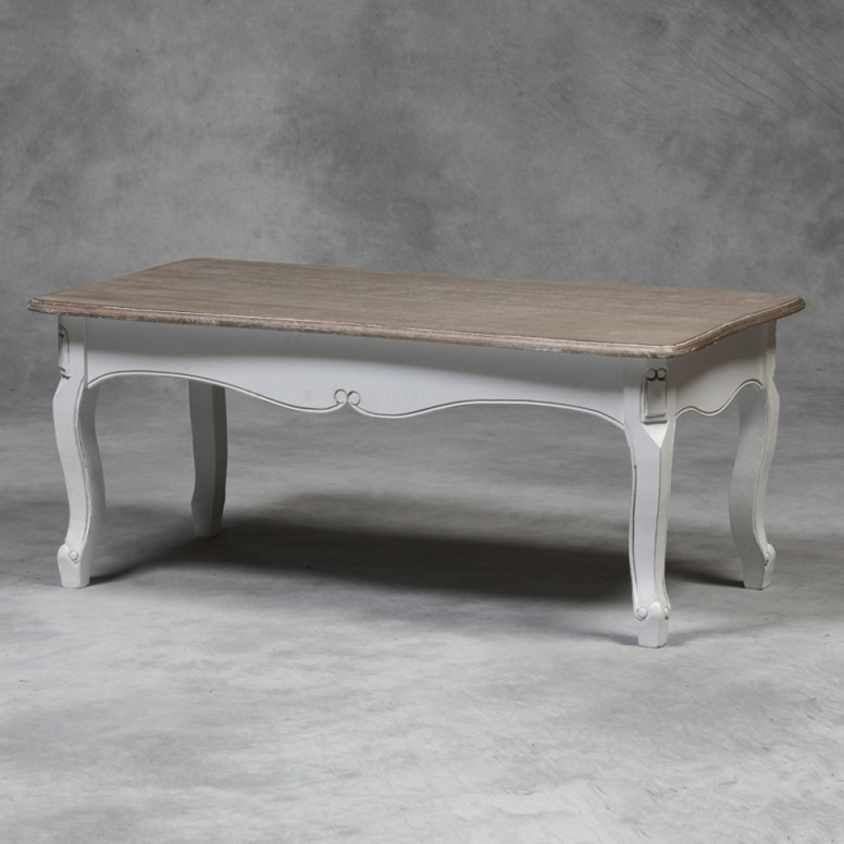 Brilliant Wellliked French White Coffee Tables Inside French Farmhouse Coffee Table Pictures (Image 17 of 50)