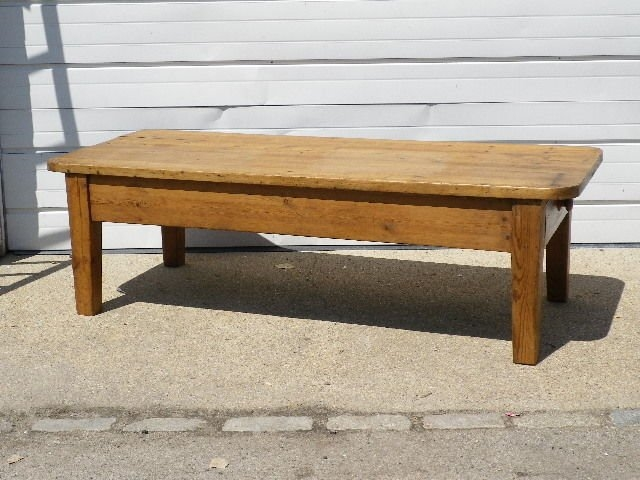 Brilliant Wellliked Old Pine Coffee Tables Throughout Old Pine Coffee Table For Sale At 1stdibs (Image 10 of 50)