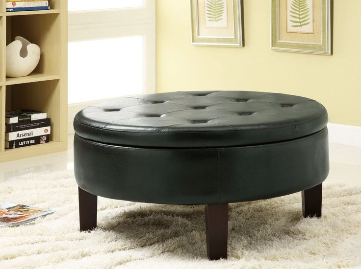 Brilliant Wellliked Round Upholstered Coffee Tables For Best 25 Storage Ottoman Coffee Table Ideas On Pinterest (Image 11 of 40)