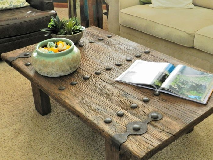 Brilliant Wellliked Rustic Barnwood Coffee Tables Within 24 Best D E S I G N Coffee Tables Images On Pinterest Coffee (View 39 of 50)