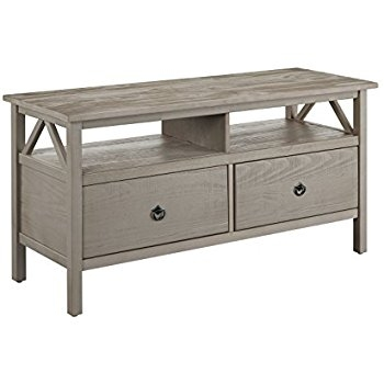 Brilliant Wellliked Rustic White TV Stands With Regard To Amazon Ameriwood Home Wildwood Wood Veneer Tv Stand For Tvs (View 45 of 50)