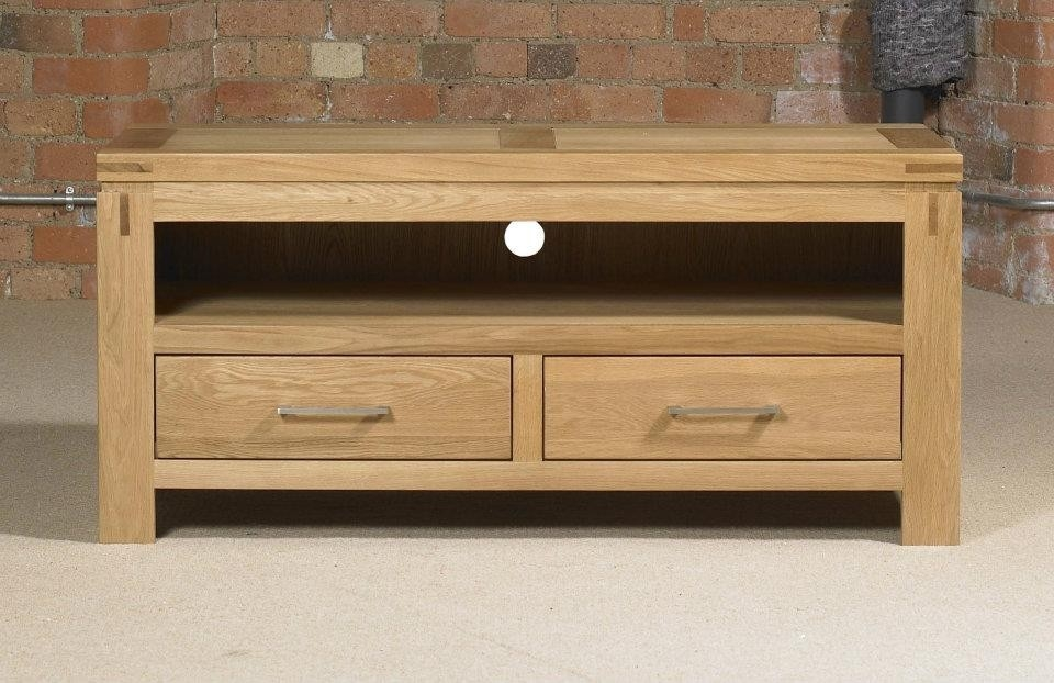 Brilliant Wellliked Small Oak TV Cabinets Throughout Canterbury Contemporary Oak Small Tv Unit Oak Furniture Uk (View 2 of 50)