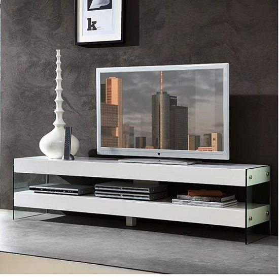 Brilliant Wellliked Smoked Glass TV Stands Inside Best 20 Glass Tv Unit Ideas On Pinterest Media Wall Unit Tv (Image 12 of 50)
