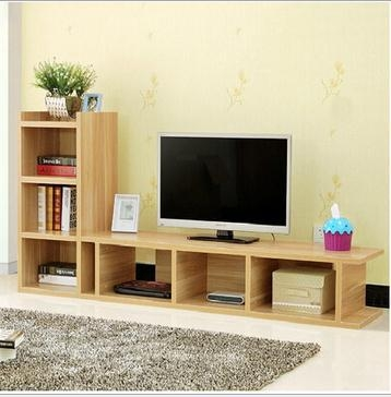 Brilliant Wellliked TV Stands And Bookshelf Regarding Simple Modern Wooden Simple Tv Stand With Bookshelf Buy Tv (Image 10 of 50)