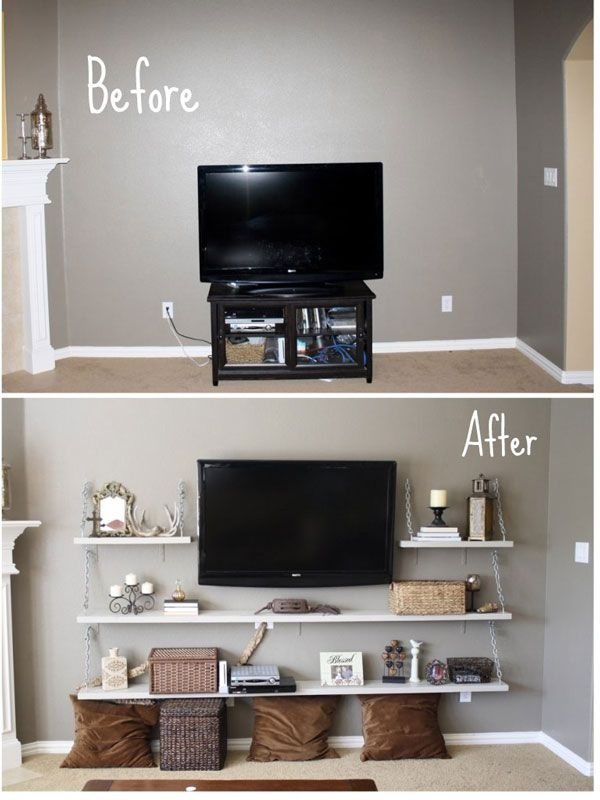 Brilliant Wellliked TV Stands For Small Spaces Regarding Best 10 Small Tv Stand Ideas On Pinterest Apartment Bedroom (Image 20 of 50)