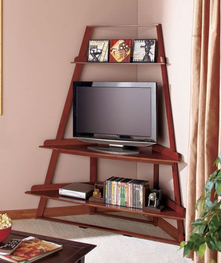 Brilliant Wellliked TV Stands With Rounded Corners Pertaining To Best 10 Tv Stand Corner Ideas On Pinterest Corner Tv Corner Tv (Image 8 of 50)