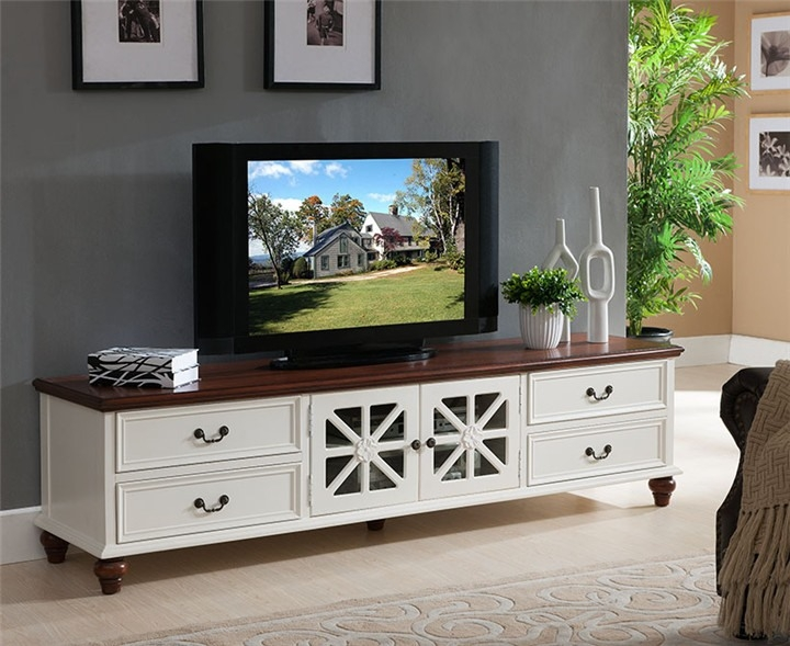 Brilliant Wellliked White Wood Corner TV Stands Intended For Tv Stands Most Elegant Dark Distressed Corner Tv Stand Design (Image 13 of 50)