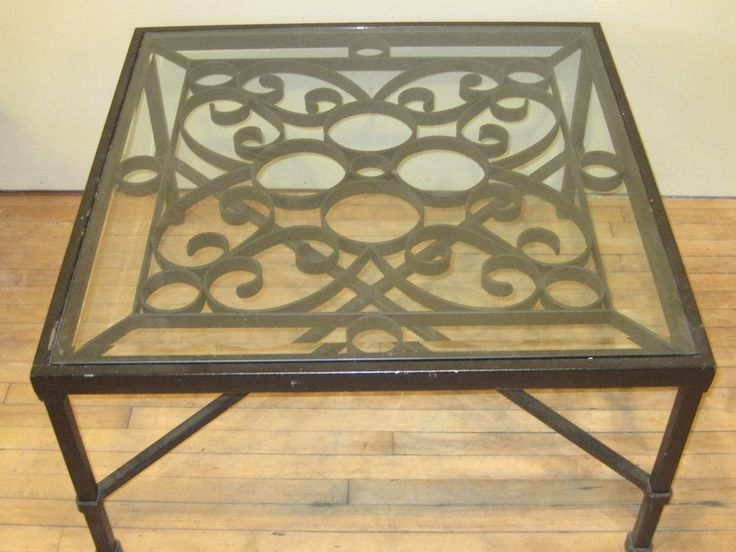 Brilliant Wellliked Wrought Iron Coffee Tables Inside Best 25 Iron Coffee Table Ideas On Pinterest Glass Coffee (Image 12 of 50)