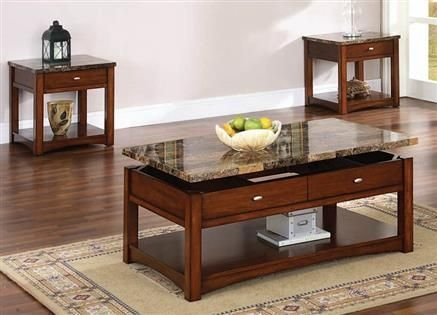 Brilliant Widely Used Cherry Wood Coffee Table Sets Throughout Best 25 Marble Coffee Table Set Ideas On Pinterest Velvet Sofa (View 50 of 50)