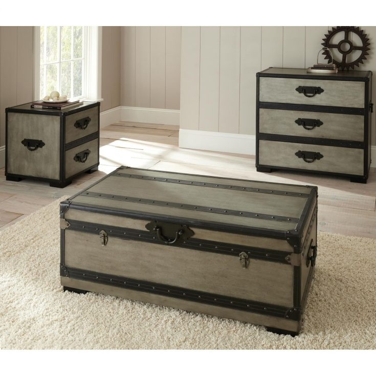 Brilliant Widely Used Dark Wood Chest Coffee Tables For Dark Wood Chest Coffee Table Modern Coffee Tables Storage Trunk (Image 12 of 50)