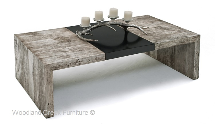 Brilliant Widely Used Gray Wood Coffee Tables Regarding Gray Wash Coffee Table (Image 12 of 50)