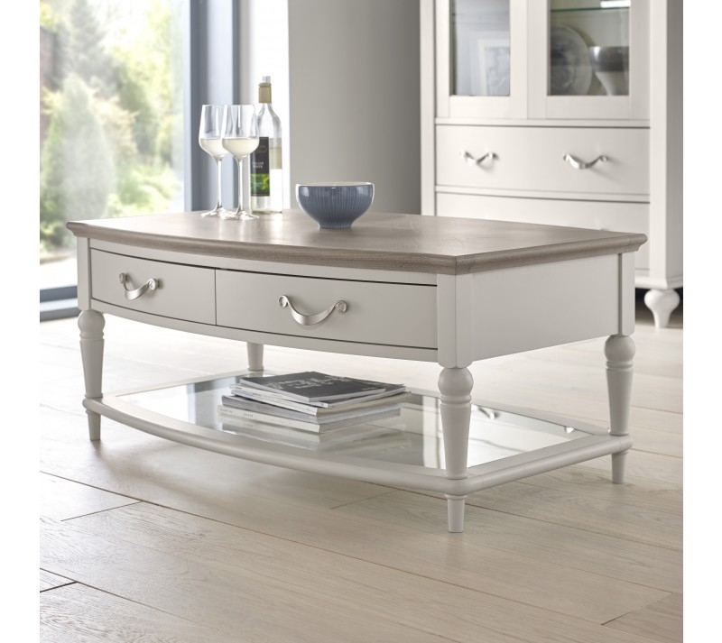 Brilliant Widely Used Grey Wash Coffee Tables Throughout Grey Coffee Table (Image 12 of 50)