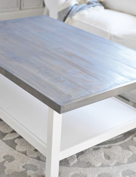 Brilliant Widely Used Grey Wash Coffee Tables With Regard To Best 25 Grey Stained Wood Table Ideas On Pinterest Grey House (Image 13 of 50)