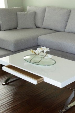Brilliant Widely Used High Coffee Tables Throughout White Gloss Coffee Table Foter (View 35 of 50)