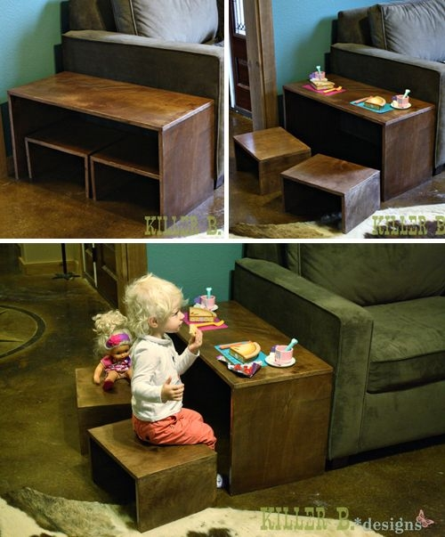Brilliant Widely Used Kids Coffee Tables Throughout Best 25 Kids Play Table Ideas Only On Pinterest Children (Image 17 of 50)